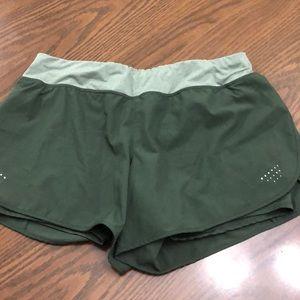 Green athletic shorts! Super comfy!